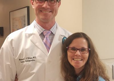 Dr. Michael J. O'Brien and Dr. Mary K. Mulcahey